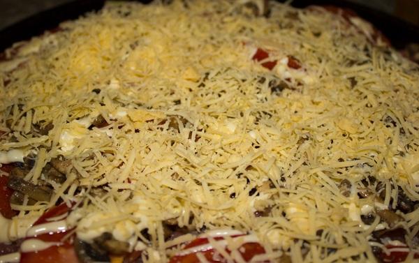 мясо по-французски рецепт с курицей и грибами и картошкой