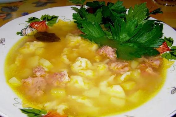 Суп с клецками: 5 самых лучших рецептов с пошаговыми фото