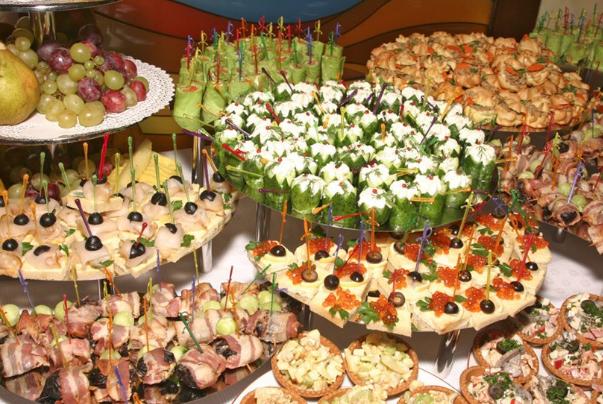 Вкусные закуски на праздничный стол с фото