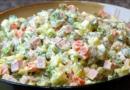 Салат оливье. 5 классических рецептов вкусных салатов