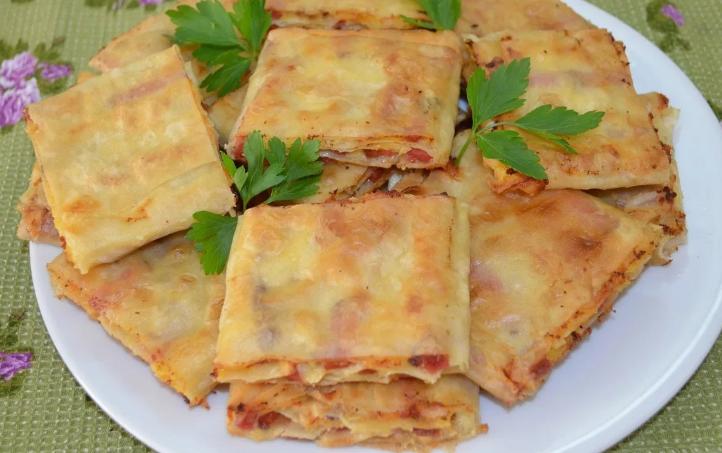Лаваш рецепт приготовления с начинкой на сковороде