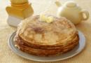 Блины на кефире с дырочками — 5 рецептов тонких блинчиков