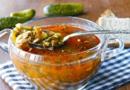 Рассольник с рисом и солеными огурцами — Лучшие рецепты приготовления