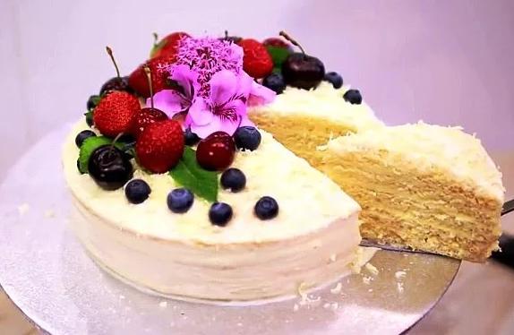 Торт молочная девочка — Рецепты в домашних условиях