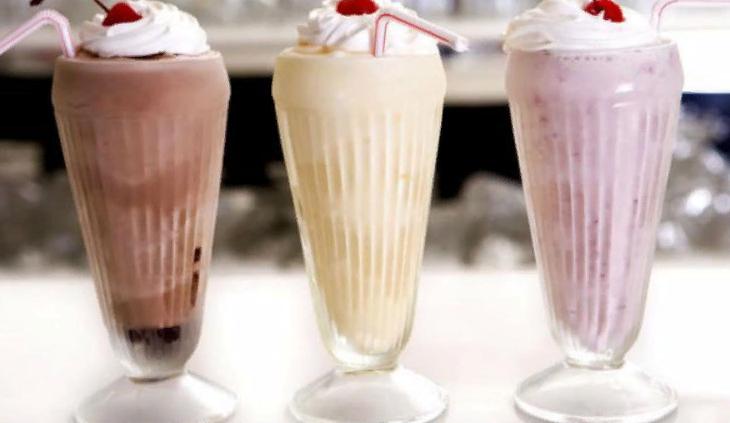 Как сделать коктейль из мороженого и сливок 58