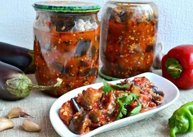 Баклажаны на зиму — Лучшие рецепты заготовок