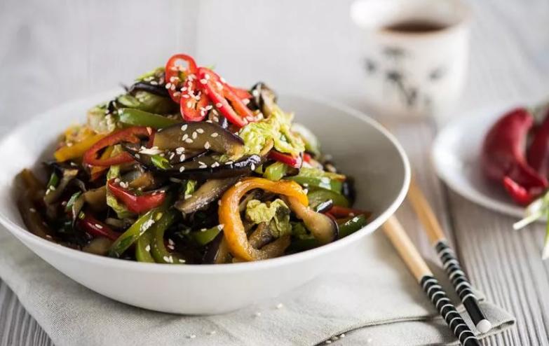 Салат из баклажанов по корейски – азиатское доступное блюдо: рецепт с фото и видео