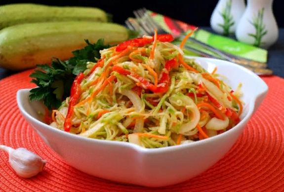 Кабачки по-корейски — Самые вкусные рецепты в домашних условиях