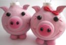Новогодние поделки своими руками на 2019 год свиньи