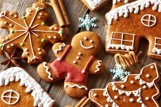 Имбирное печенье без корицы