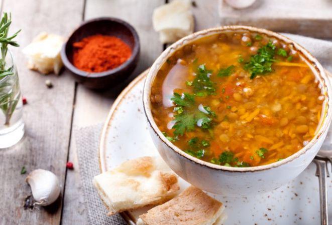 Суп из чечевицы — Простые и вкусные пошаговые рецепты