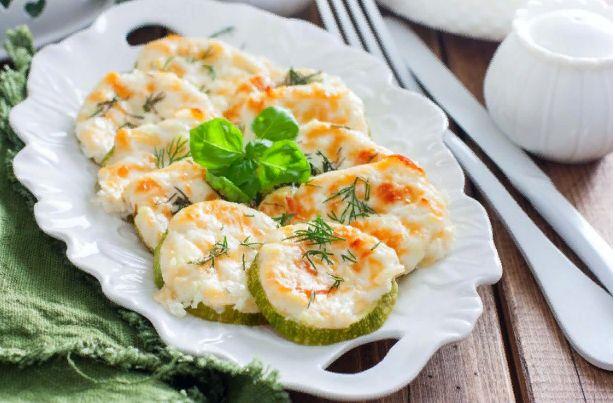 Кабачки запеченные в духовке — Быстрые и вкусные рецепты